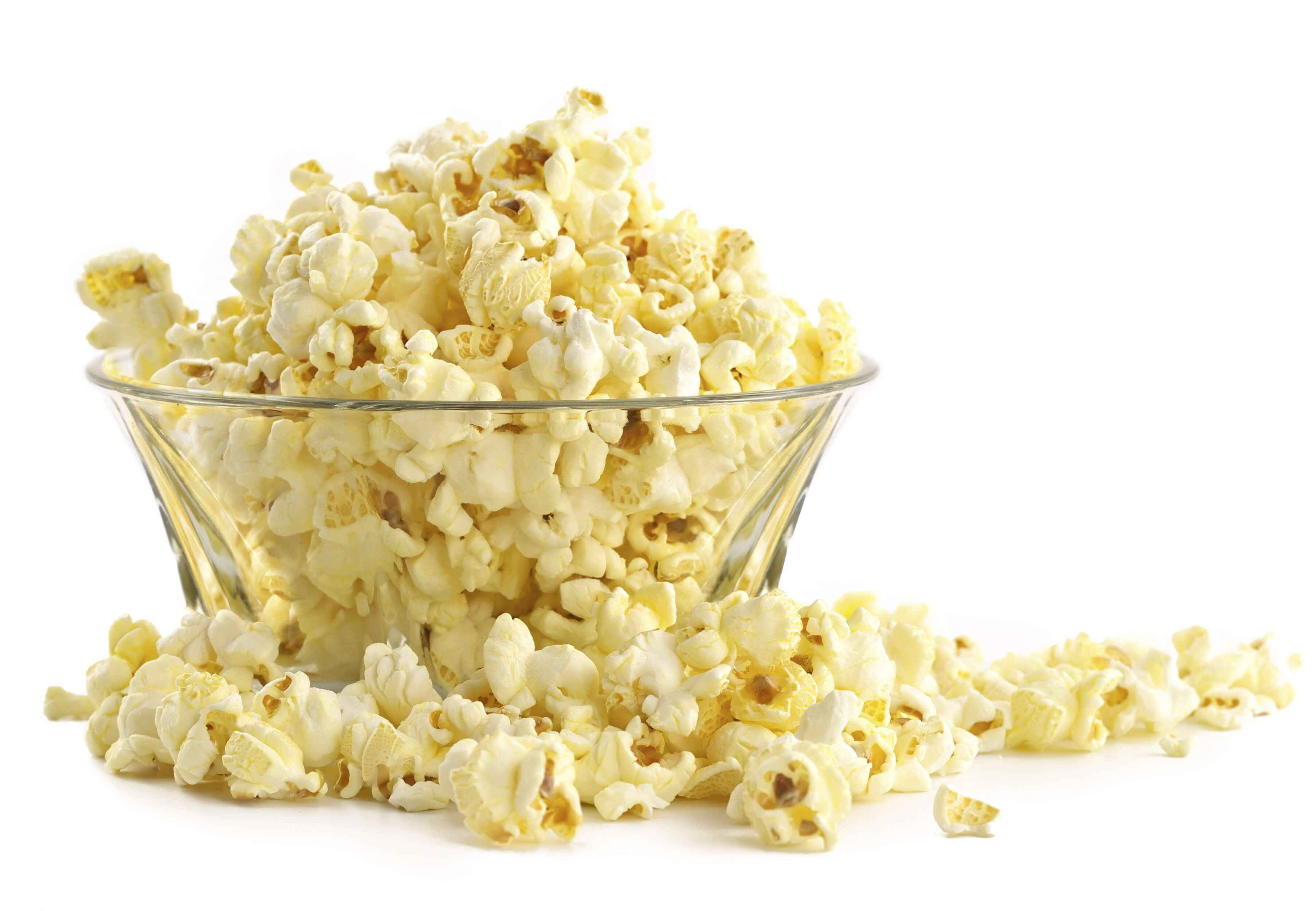 Popcorn without oil - Especially if you care about your health