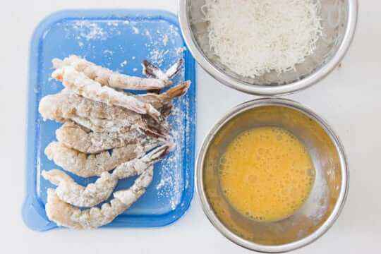 Air Fried Coconut Shrimp Recipe
