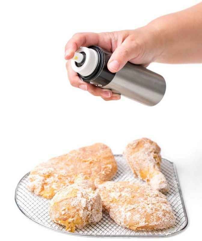 Air Fryer Chicken Thigh Cooking Spray