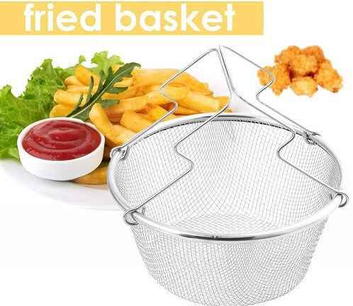 Deep Fry Basket Round Wire