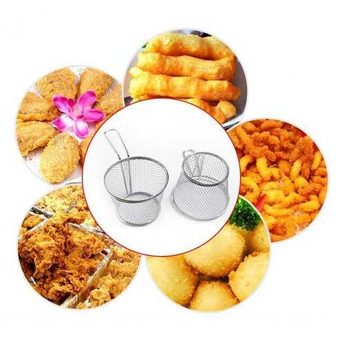 Stainless Steel Deep Fry Basket