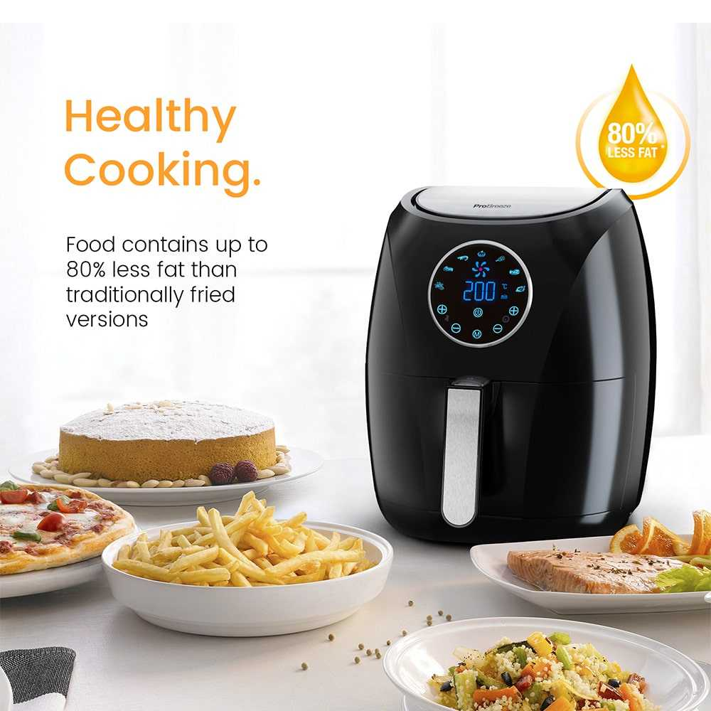 Healthy Cooking With Air Fryer Compressed