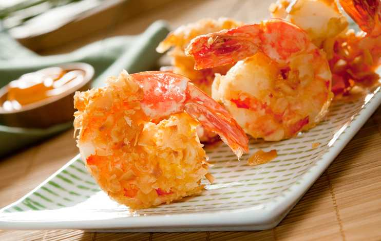 Nuwave Air Fryer Shrimp Compressed