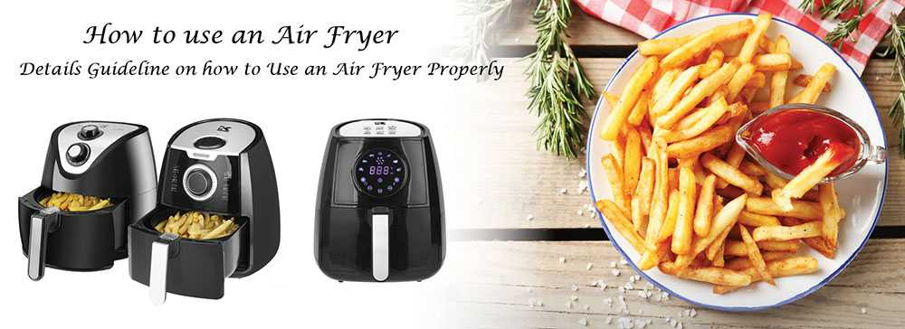 How To Use An Air Fryer Compressed
